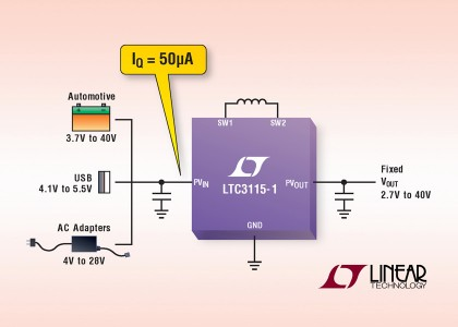 LTC3115-1Diagram-420x300 LTC3115-1, convertitore DC/DC buck-boost sincrono da 40 VIN/OUT e 2A