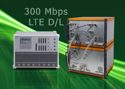 Anritsu_LTE-420x300 Anritsu e Signalion viaggiano a 300 Mbps di throughput in downlink a livello IP