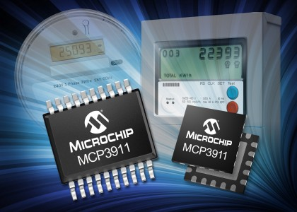 MCP3911-420x300 MCP3911, nuovo Front-End analogico Microchip con ADC a 24-bit