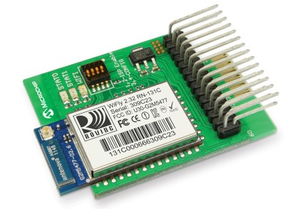 Wi-FlyMicrochip-420x300 Nuove Wi-Fi Development Board con stack TCP/IP integrato