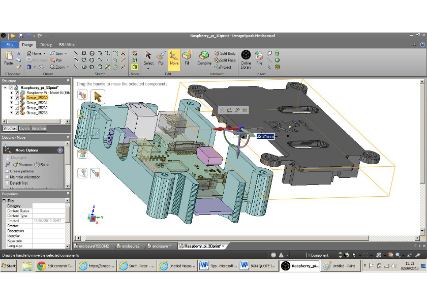 Designspark mechanical un software gratuito per for Software per progettare