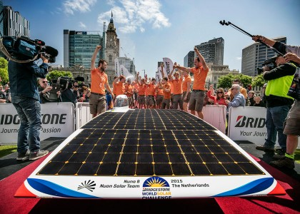 NuonTeam2-420x300 World Solar Challenge 2015: primo e secondo posto per i team olandesi