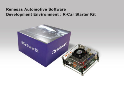 Renesas_R-Car-StarterKit-Box-Kit-420x294 Due nuovi Starter Kit R-Car di terza generazione da Renesas Electronics