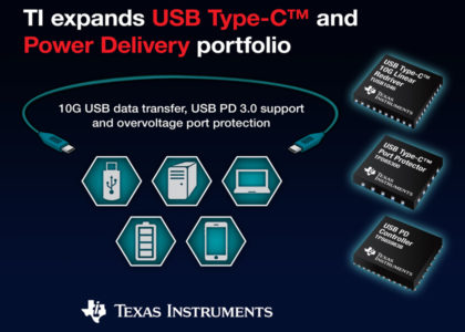 TI_USBType-C-420x300 Nuovi dispositivi USB Type-C e Power Delivery 3.0 da Texas Instruments