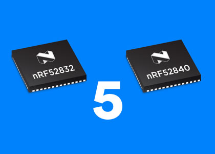 NordicSemi nRF52840 e nRF52832: i SoC di Nordic Semiconductor pronti per Bluetooth 5