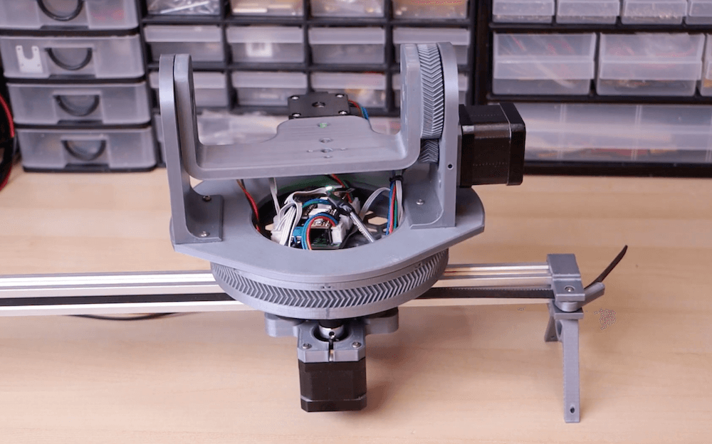 Costruire una camera sliders con Arduino
