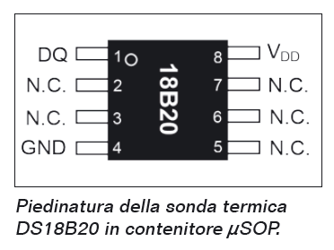 DS18b20 Breakout board Multifunzione