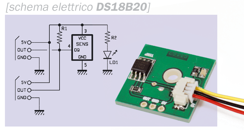 DS18b20_2 Breakout board Multifunzione