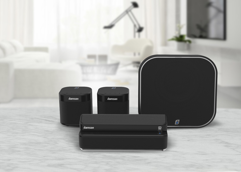 Damsan_Evidenza La rapidità è essenziale: l'Audio Surround wireless di Damson Global