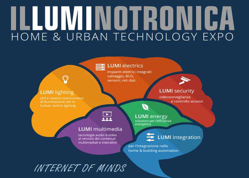 Illuminotronica 2018 scommette sull'Internet of Things