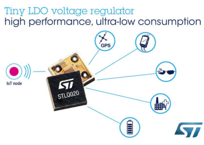 STLQ020LDO_voltage_regulator-420x300 STLQ020, innovativo regolatore di tensione a basso dropout da STMicroelectronics