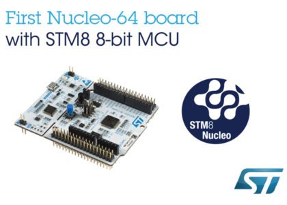 STM8_NUCLEO-420x300 Da STMicroelectronics Nucleo Board STM8 a 8 bit, per accedere alle risorse hardware open-source
