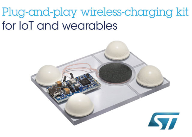 Wireless_batt_charger_wearables_N4069D_big-640x457 Kit di ricarica wireless plug-and-play di ST per dispositivi IoT e indossabili