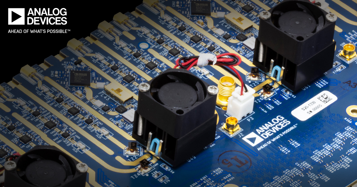 Analog Devices annuncia un digitalizzatore mixed-signal front-end a 16 canali